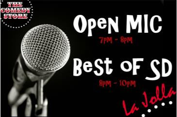 Open Mic + Best of SD (Free Show): Main Image