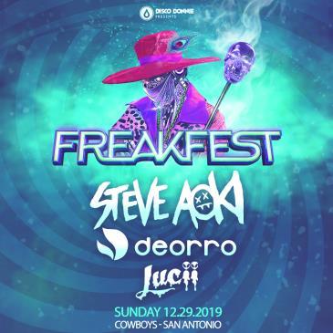 Freakfest Ft. Steve Aoki - SAN ANTONIO: Main Image