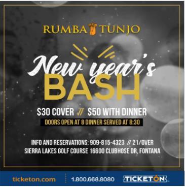 RUMBA TUNJO NEW YEAR'S PARTY: Main Image