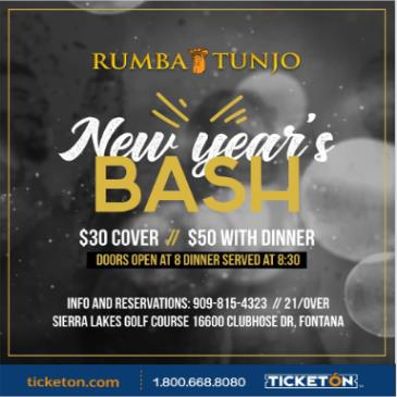 RUMBA TUNJO NEW YEAR'S PARTY