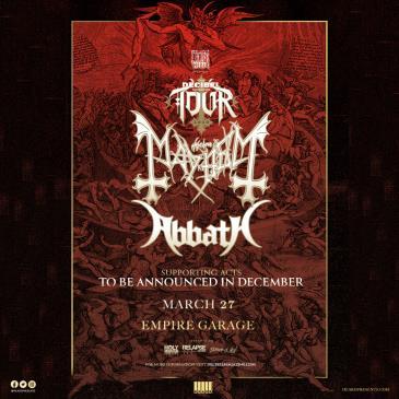 Decibel Magazine Tour ft. Mayhem & Abbath: Main Image