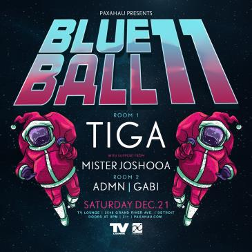 Paxahau Presents: Blue Ball 11 wsg Tiga: Main Image