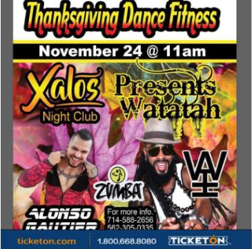 CANCELADO THANKSGIVING DANCE FITNESS: Main Image