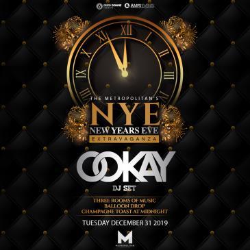 NYE Extravaganza Ft. Ookay (DJ Set) - NEW ORLEANS: Main Image