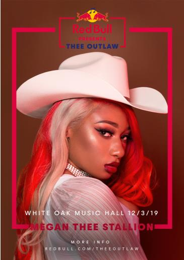 Red Bull Presents: Thee Outlaw featuring Megan Thee Stallion: Main Image
