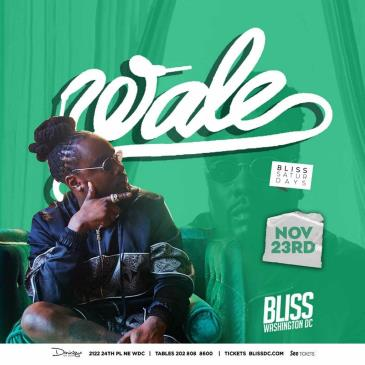 WALE AT BLISS: Main Image