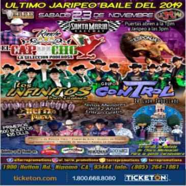 ULTIMO JARIPEO BAILE DEL 2019
