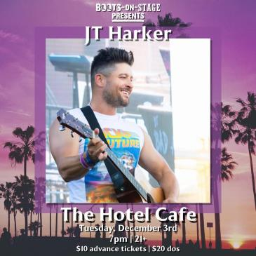 Boots On Stage Presents: JT Harker: Main Image