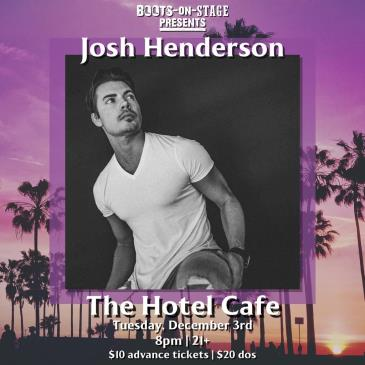 Boots On Stage Presents: Josh Henderson: Main Image
