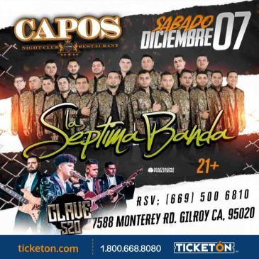 LA SEPTIMA BANDA- CLAVE 520- CLUB CAPOS