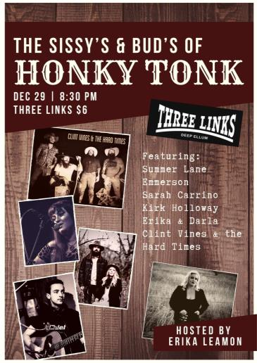 The Sissy's and Bud's of Honky Tonk: