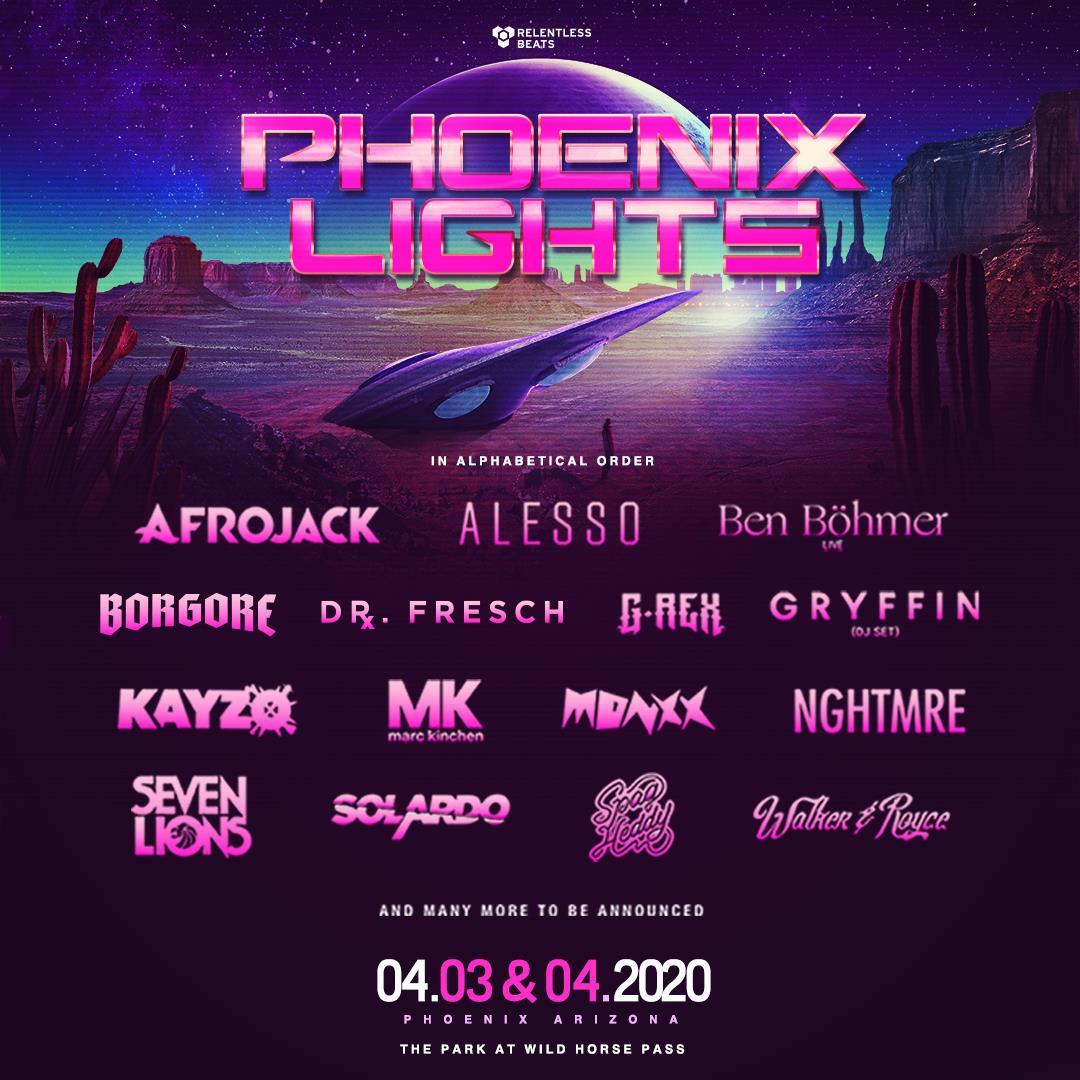 Image result for Phoenix Lights 2020