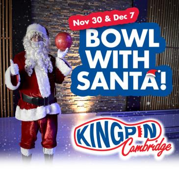 Kingpin Cambridge Lunch & Bowl With Santa Dec 7: Main Image