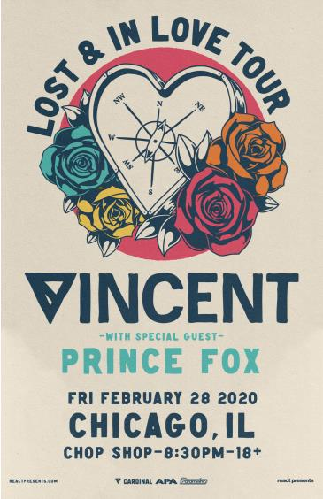 VINCENT presents LOST & IN LOVE TOUR: Main Image