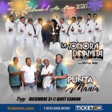 LA SONORA DINAMITA & PUNTA MANIA