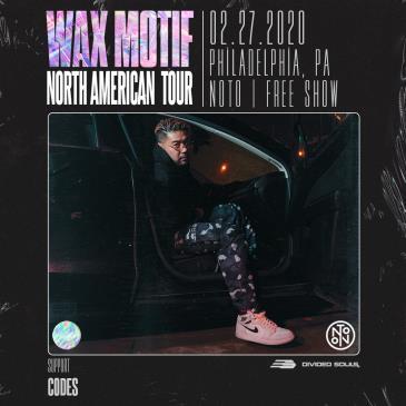 Wax Motif: North American Tour: Main Image