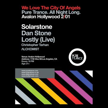 Pure Trance: Solarstone, Dan Stone, Lostly (Live)-img