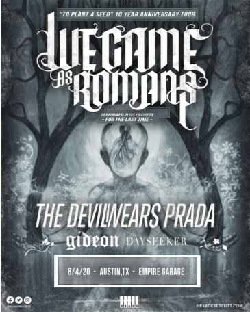 We Came As Romans: 10 Yr Anniversary Tour: Main Image