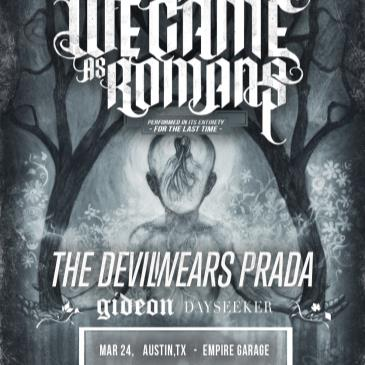 We Came As Romans: To Plant A Seed 10 Year Anniversary Tour-img