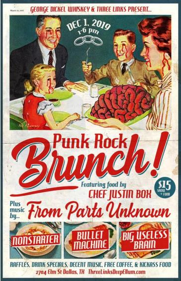 Punk Rock Brunch w/ Justin Box & From Parts Unknown: Main Image