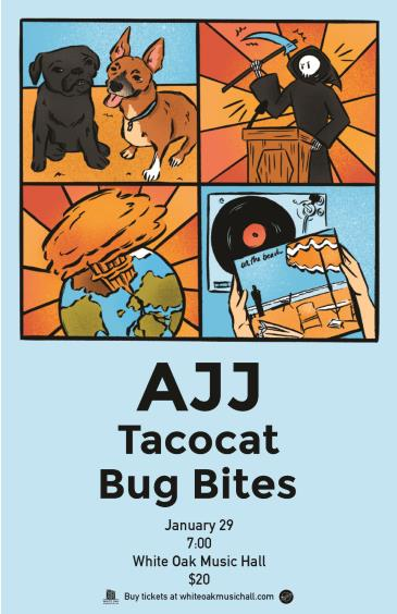 AJJ with Tacocat and Bug Bites: Main Image