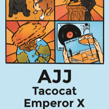 AJJ with Tacocat and Emperor X-img