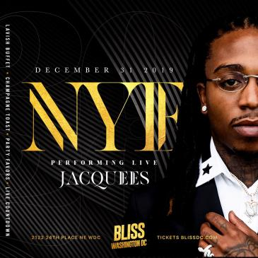 NYE 2020 : JACQUEES LIVE !! : NEW YEARS EVE PARTY 2020: Main Image