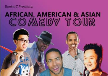 African American & Asian Stand Up Comedy Tour 2 for 1 Seats: Main Image
