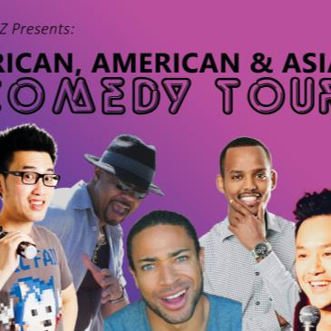 African American & Asian Stand Up Comedy Tour 2 for 1 Seats-img