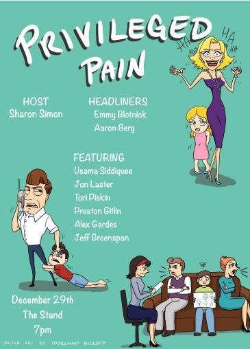 Privileged Pain!: Main Image
