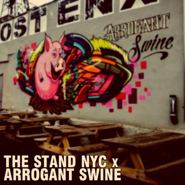 THE STAND x ARROGANT SWINE POP UP SHOW: Main Image