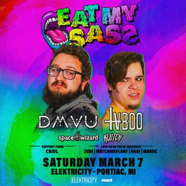 DMVU & TVBOO PRESENT: EAT MY SASS TOUR: Main Image