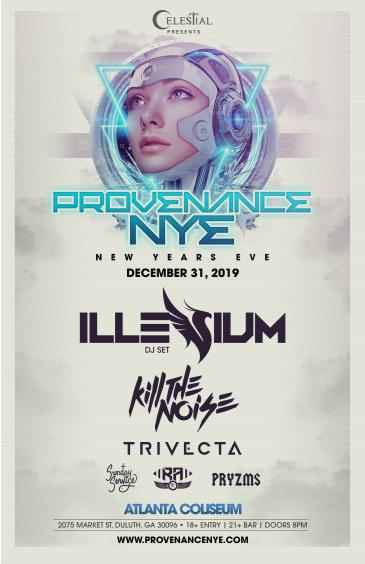 PROVENANCE NYE: Main Image