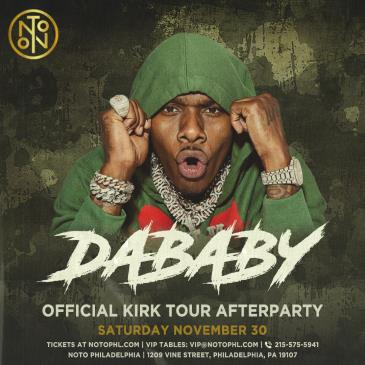 DaBaby: Official Kirk Tour Afterparty: Main Image