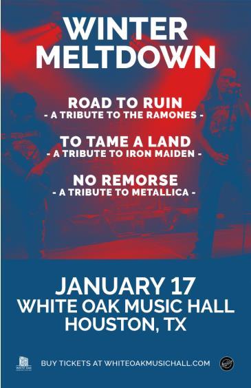 Winter Meltdown Tribute: Ramones, Iron Maiden, and Metallica: Main Image