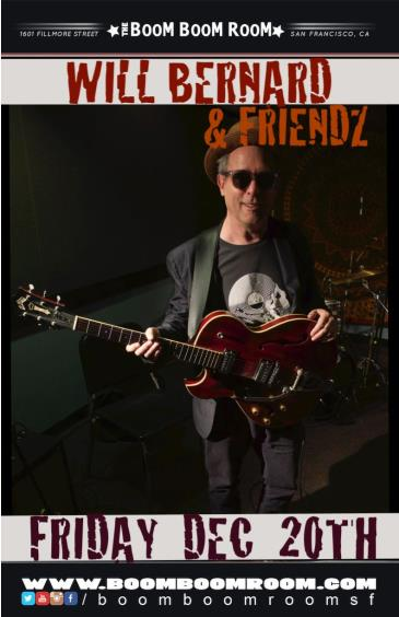 WILL BERNARD & FRIENDZ (Vic Little,Josh Jones,Joe Bagale++): Main Image