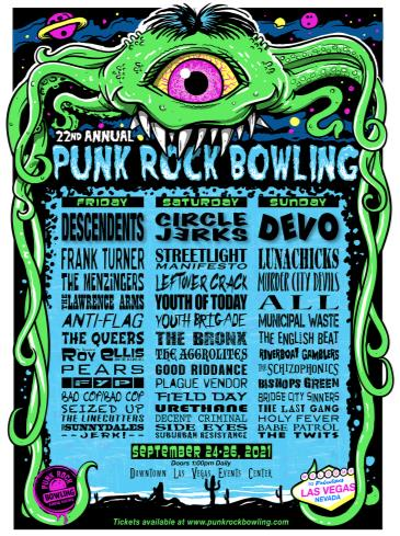 Punk Rock Bowling and Music Festival 2021: