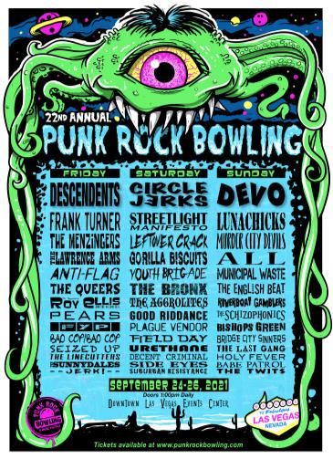 Punk Rock Bowling and Music Festival 2021: Main Image