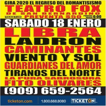 GIRA 2020 REGRESO EL ROMANTICISMO: Main Image