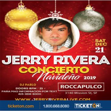 CONCIERTO NAVIDEÑO CON JERRY RIVERA Y SU ORQUESTA: Main Image