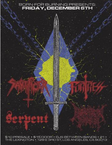 Sakrificer, Fortress, Serpent: Main Image