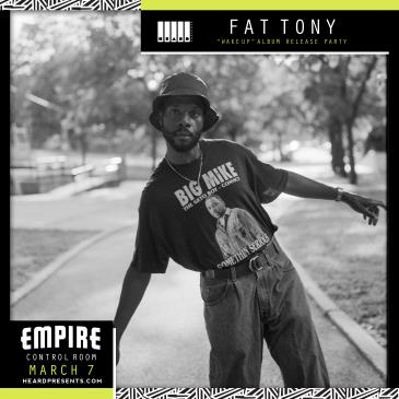 "Fat Tony ""Wake Up"" Album Release: Main Image"