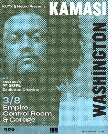 KUTX Presents: Kamasi Washington: Main Image