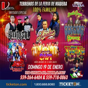 MEGA FESTIVAL DE LA CUMBIA/MADERA,CA.