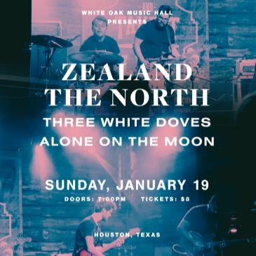 Zealand The North with Three White Doves & Alone On the Moon-img
