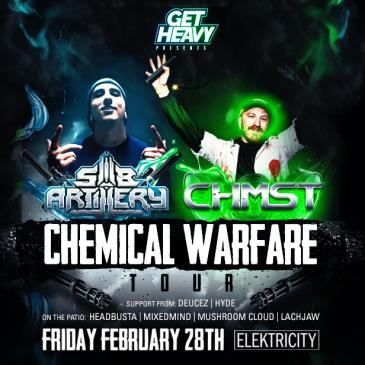 CHMST x SUB ARTILLERY (Limited Free w/ RSVP Before 11PM)-img