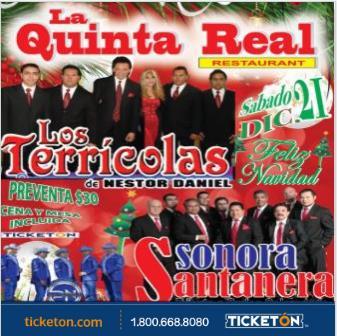 LOS TERRICOLAS / SONORA SANTANERA: Main Image