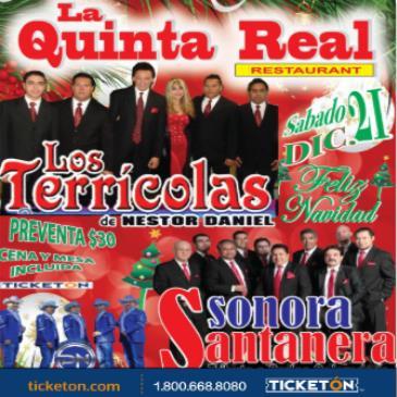 LOS TERRICOLAS / SONORA SANTANERA