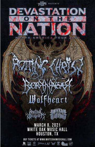 Devastation On The Nation Tour 2021: Main Image