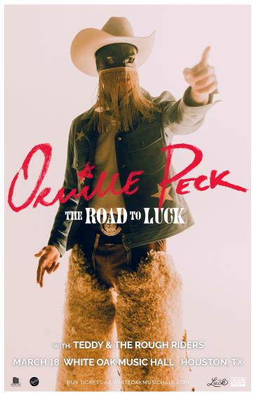 ORVILLE PECK - The Road to Luck: Main Image